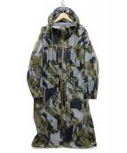 AIGLE(エーグル)の古着「透湿防水エリオトリクスジャケット コート」|グレー