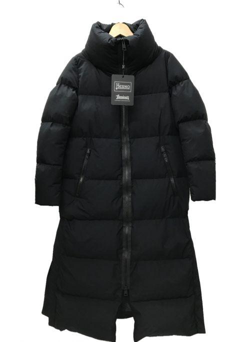 HERNO(ヘルノ)HERNO (ヘルノ) Gore Wind stopperダウンジャケット コート ブラック サイズ:40 未使用品の古着・服飾アイテム