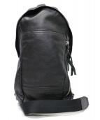 COACH(コーチ)の古着「トンプソン コンバーチブル スリング パック ボディバッグ」|ブラック