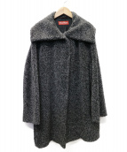 MAX MARA(マックスマーラ)の古着「アルパカ MIX コート」|グレー