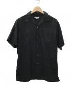Engineered Garments(エンジニアドガーメンツ)の古着「Chauncey shirt シャツ」|ブラック