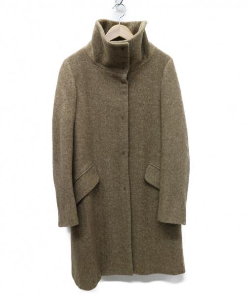 MAX MARA WEEK END LINE(マックスマーラ ウイークエンドライン)MAX MARA WEEK END LINE (マックスマーラ ウイークエンドライン) スタンドカラーコート ブラウン サイズ:40  50860613の古着・服飾アイテム