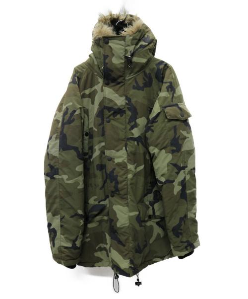 CarHartt(カーハート)CarHartt (カーハート) N-3B 中綿コート カーキ サイズ:M カモフラージュの古着・服飾アイテム