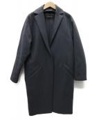 CEDRIC CHARLIER(セドリック シャルリエ)の古着「カシミヤMIX コート」|グレー