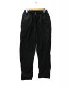TEATORA(テアトラ)の古着「Wallet Pants Packable ウォレットパンツ」 ブラック