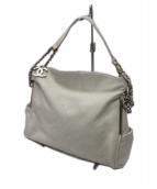 CHANEL(シャネル)の古着「ココマークサイドポケット キルティングチェーンバッグ」|ホワイト