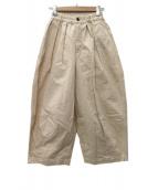 HARVESTY(ハーベスティー)の古着「CIRCUS PANTS(サーカスパンツ) 」|オフホワイト