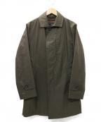 EPOCA UOMO(エポカウォモ)の古着「ライナー着脱可 ステンカラーコート」|カーキ