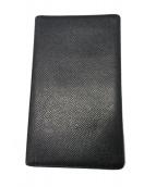 LOUIS VUITTON(ルイヴィトン)の古着「タイガ ポルトシェキエ・カルトクレディ 札入れ 長財布」|ブラック