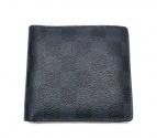 LOUIS VUITTON(ルイヴィトン)の古着「ダミエ コバルト ポルトフォイユ・マルコ  財布」