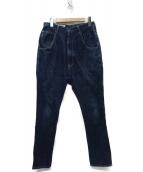 KAPITAL(キャピタル)の古着「シンチバックデニムパンツ」|インディゴ
