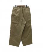 TUKI(ツキ)の古着「0069 MILITARY BAGS  パンツ」 ベージュ