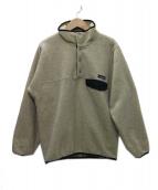 Patagonia(パタゴニア)の古着「USA製 90's スナップT フリースジャケット」|アイボリー