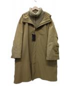 LAppartement(アパルトモン)の古着「3WAY ES:S/エス MOUNTAIN COAT コート」 ベージュ