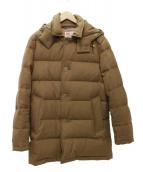 Traditional Weatherwear(トラディショナルウェザーウェア)の古着「DERBY HOOD DOWN ウールダウンジャケット」|ブラウン