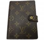 LOUIS VUITTON(ルイヴィトン)の古着「アジェンダ PM モノグラム 手帳カバー」|ブラウン