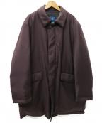 DORMEUIL(ドーメル)の古着「撥水ウール ダウンステンカラーコート」 バーガンディー