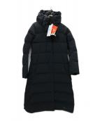 DESCENTE ALLTERRAIN(デサントオルテライン)の古着「ELEMENT-L EX-LONG 水沢ダウン コート」 ブラック