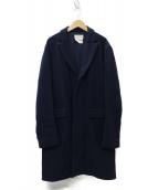 YAECA(ヤエカ)の古着「CONTEMPO CHESTER COAT コート」|ネイビー