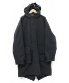 GOLDWIN(ゴールドウィン)の古着「Traveler Over Coatトラベラーオーバーコート」|ブラック