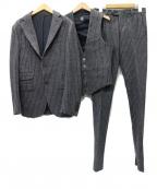 eleventy(イレブンティ)の古着「3ピース セットアップ2Bスーツ」 グレー