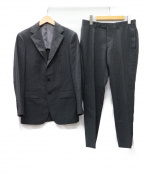 BEAMS F(ビームスエフ)の古着「TALLIA DI DELFIN生地 セットアップ3Bスーツ」|グレー
