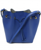 Gianni Notaro(ジャンニ ノターロ)の古着「巾着 ショルダーバッグ」|ブルー