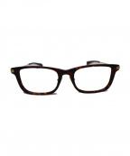 Ayame(アヤメ)の古着「SALOON  セル・メタル ウエリントンフレーム 眼鏡」 ブラウン
