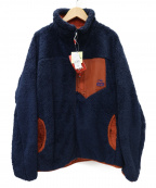 CHUMS(チャムス)の古着「BONDING FLEECE JACKET ジャケット」 ネイビー