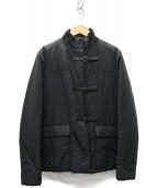 PRADA(プラダ)の古着「ナイロン中綿コート ジャケット」|ブラック