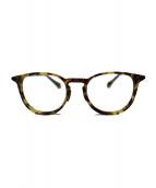 OLIVER PEOPLES(オリバーピープルズ)の古着「ENNIS-J セル・メタルコンビウェリントンフレーム 眼鏡」