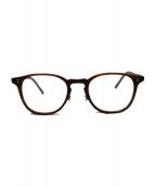 OLIVER PEOPLES(オリバーピープルズ)の古着「 FINLEY-P-CF  セルフレーム 眼鏡」|ブラウン