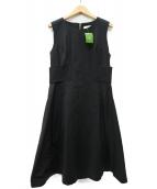 Kate Spade(ケイトスペード)の古着「ノースリーブワンピース」|ブラック