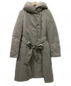AMACA(アマカ)の古着「エアリーダウンコート」 ベージュ