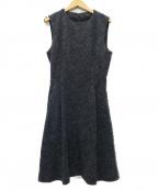 theory()の古着「SL SEAMED DRESS ワンピース」 ネイビー