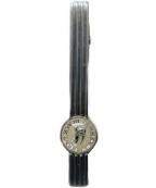 BURBERRY BLACK LABEL(バーバリーブラックレーベル)の古着「ホースロゴ タイピン」|シルバー