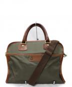 F.CLIO(エフクリオ)の古着「2WAY ブリーフケース ビジネスバッグ」|オリーブ