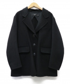 +J(プラスジェイ)の古着「20AW カシミヤブレンドオーバーサイズジャケット」|ブラック