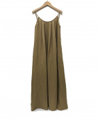 ALEXIA STAM(アリシアスタン)の古着「Linen Summer Maxi Dressワンピース」|モカ