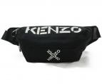 KENZO(ケンゾー)の古着「Kenzo Sport Active Bumbag バッグ」|ブラック