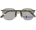 RALPH LAUREN(ラルフローレン)の古着「ビンテージ 彫金 ナイロールフレーム 眼鏡」|ブロンズ