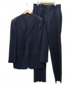 DORMEUIL(ドーメル)の古着「JADE 2B セットアップスーツ」 ネイビー