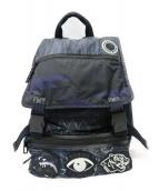 KENZO(ケンゾー)の古着「Multiicon Back Pack バックパック」|ネイビー