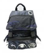 KENZO()の古着「Multiicon Back Pack バックパック」 ネイビー