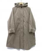 EMMEL REFINES(エメル リファインズ)の古着「SMF PE フードポンチョコート」|ベージュ