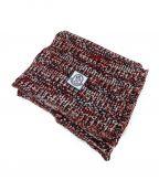 MONCLER GAMME BLEU(モンクレール ガム ブルー)の古着「sciarpa tricot マフラー ストール」|トリコロールカラー