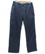 JAPAN BLUE(ジャパンブルー)の古着「ブルックリントラウザーパンツ」 インディゴ