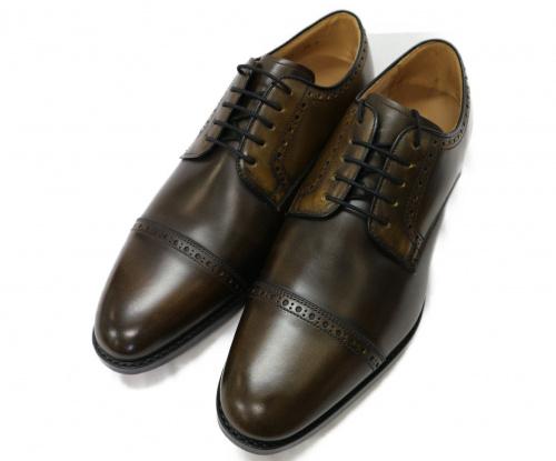 REGAL(リーガル)REGAL (リーガル) 外羽 ストレートチップシューズ ブラウン サイズ:24cm 未使用品 115Sの古着・服飾アイテム