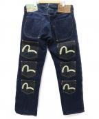 EVISU()の古着「メニーポケット 11 POCKETS GENES デニム」|インディゴ
