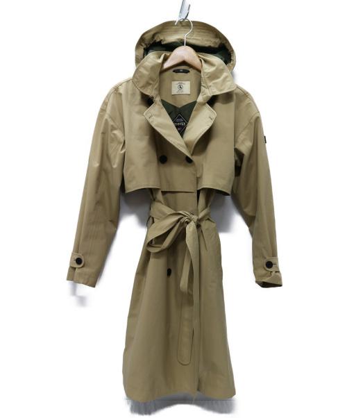 AIGLE(エーグル)AIGLE (エーグル) ゴアテックス アルベル タ コート ベージュ サイズ:38 ZBFI886 ALBERTAの古着・服飾アイテム